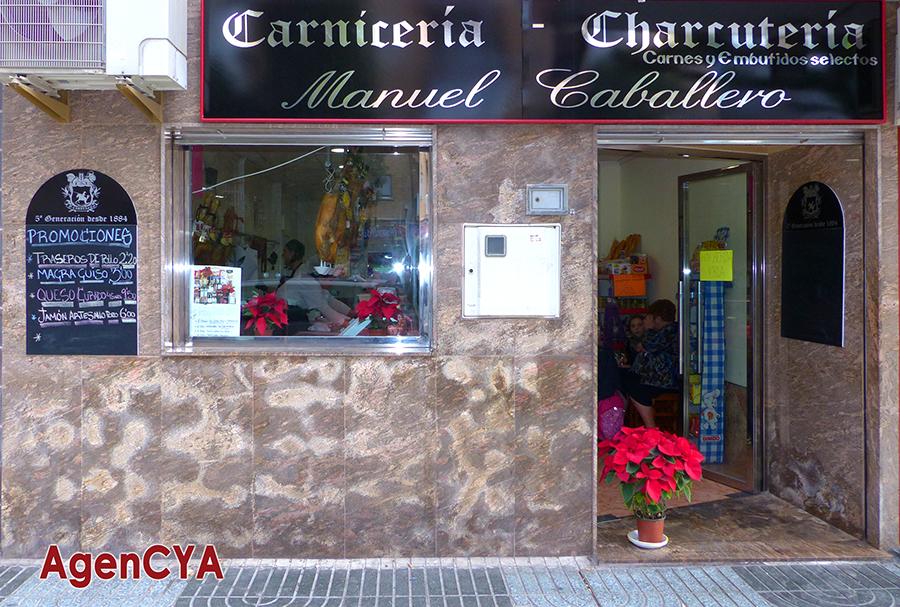 . CARNICERÍA-CHARCUTERÍA MANUEL CABALLERO